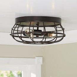 flush mount lighting ceiling fans