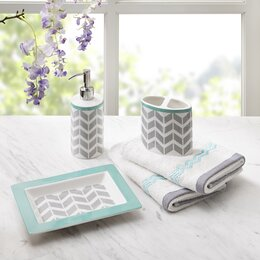 turquoise bathroom accessories sets. Bath Accessory Sets Bathroom Accessories  Decor