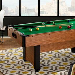 Game room furniture you 39 ll love wayfair for Garden pool table room