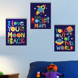 Wall Decor For Kids kids' wall art you'll love | wayfair