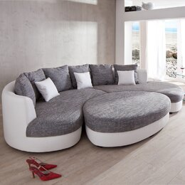 Sofa halbrund  Sofas & Couches | Wayfair.de