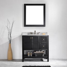 Bathroom Vanity With Sinks bathroom vanities you'll love | wayfair