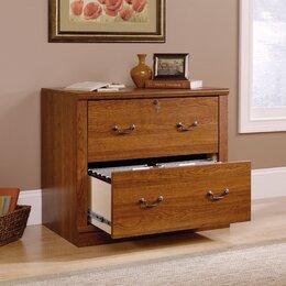 Elegant Wood Filing Cabinets