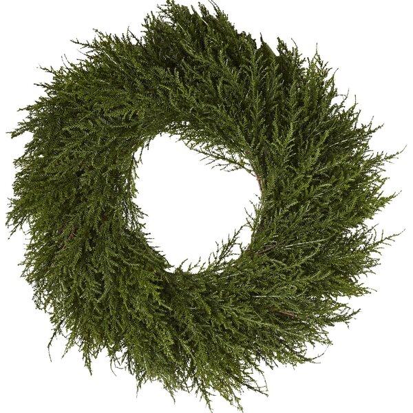 Faux Cedar Wreath Amp Reviews Joss Amp Main