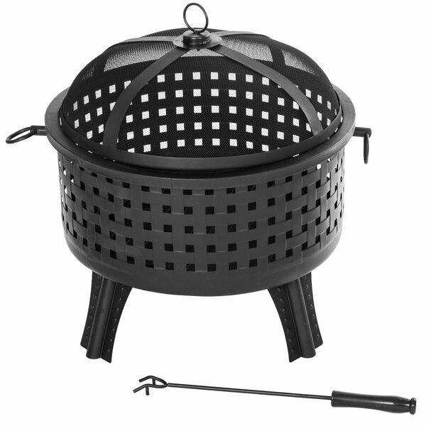 Outdoor Garden Patio Cast Iron Bowl Fireplace Joss Main
