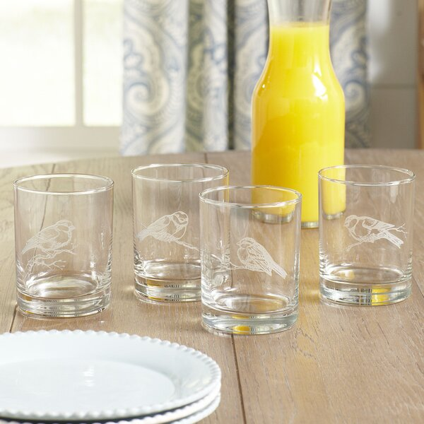 Birch Lane Finches Etched Glasses Amp Reviews Birch Lane