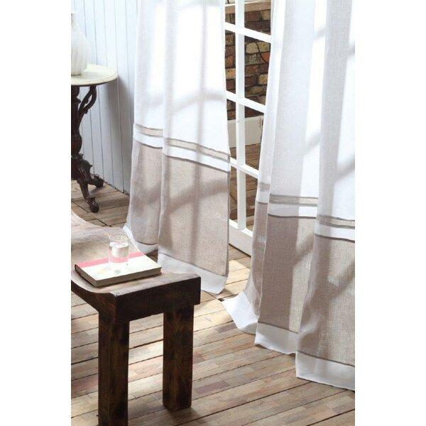 Birch Lane Wren Linen Single Curtain Panel Amp Reviews