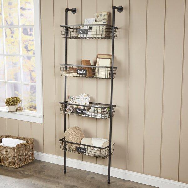 birch lane 4 tier wire basket wall shelf reviews birch lane. Black Bedroom Furniture Sets. Home Design Ideas