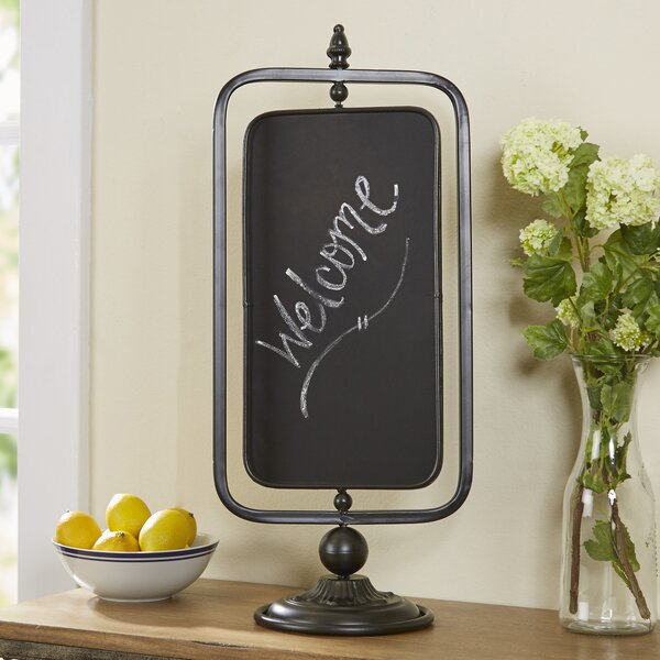 Birch Lane Orston Swivel Tabletop Chalkboard Birch Lane