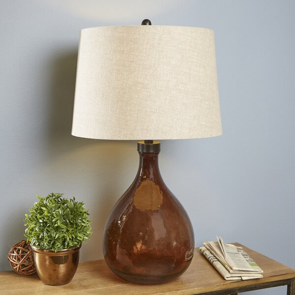 Birch Lane Molina Glass Table Lamp Birch Lane