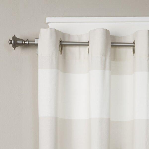 Birch Lane Bell Single Curtain Rod And Hardware Set