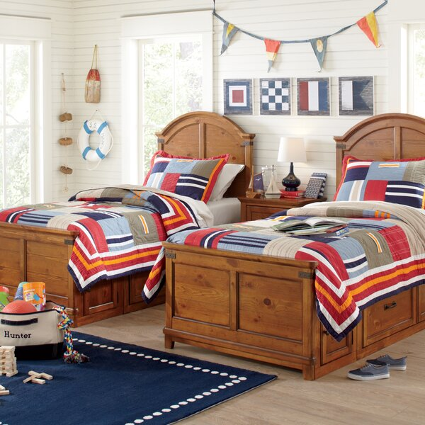 Birch Lane Kids Patchwork Pockets Quilted Bedding Set