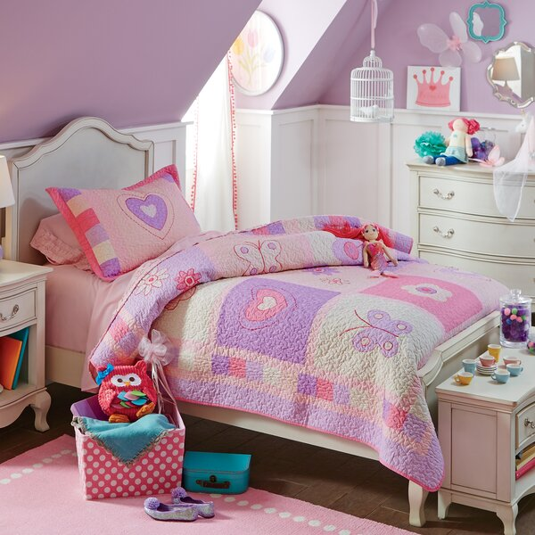 Birch Lane Kids Spring Fling Quilted Bedding Set Birch Lane