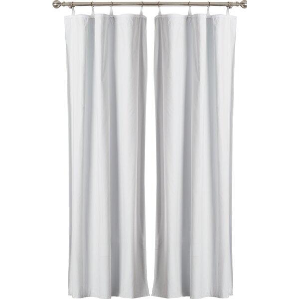 Doris Blackout Grommet Single Curtain Panel Liner & Reviews   Joss ...