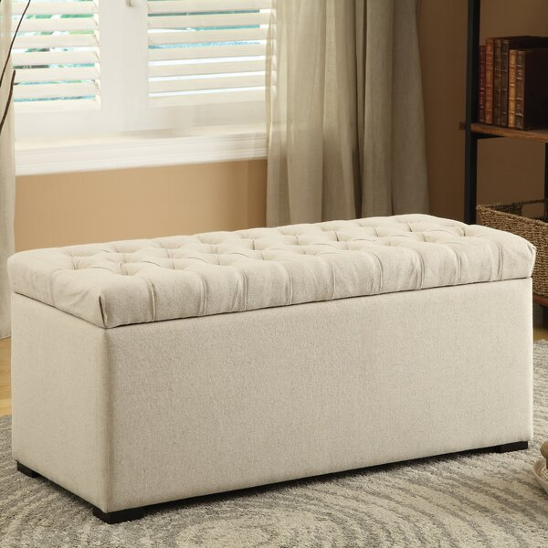 Amy Tufted Storage Bench & Reviews