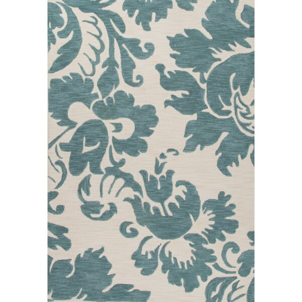 Halle blue ivory oriental hand tufted area rug joss main for Chaise longue halle
