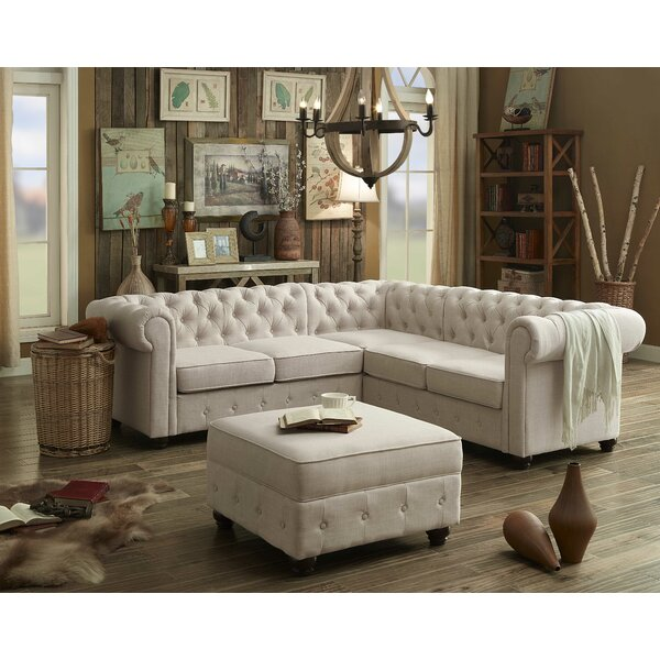 Anneliese 88 Quot Sectional Amp Reviews Joss Amp Main