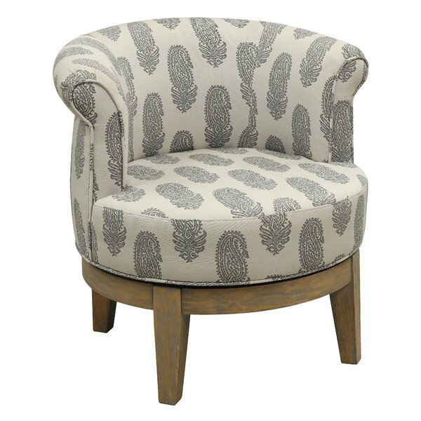Brennan Swivel Barrel Chair Amp Reviews Joss Amp Main