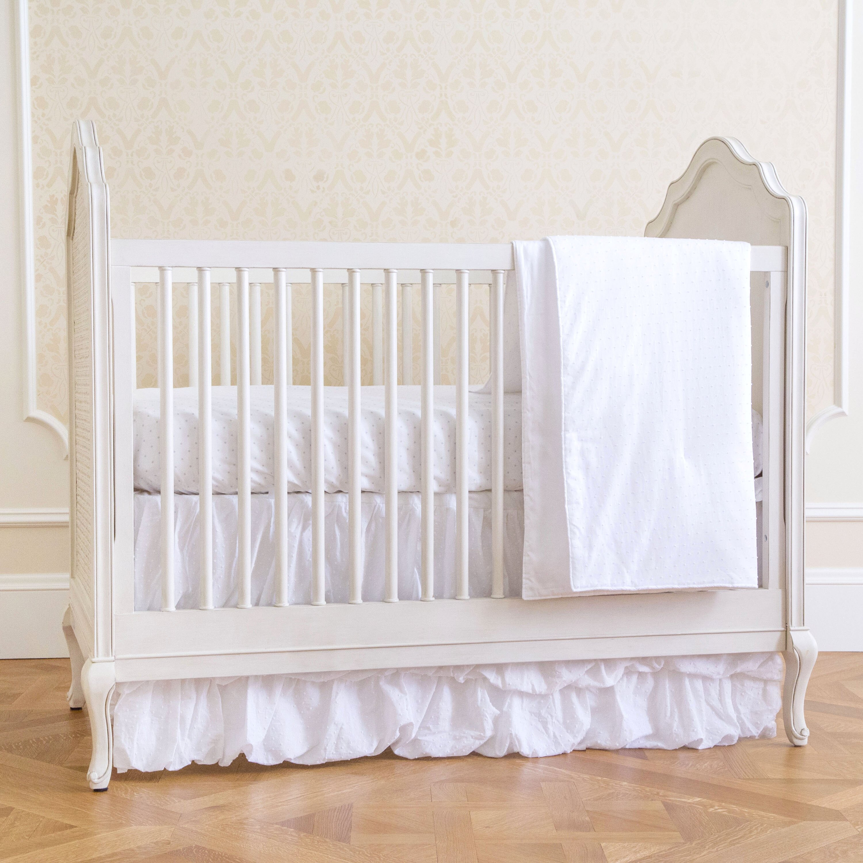 Baby cribs richmond va - Summer Infant Swiss Dot Classic 4 Piece Crib Bedding Set
