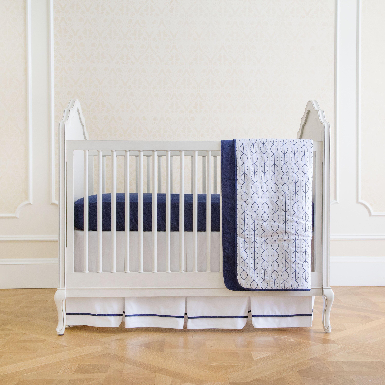 summer infant nautical navy classic 4 crib bedding set reviews wayfair
