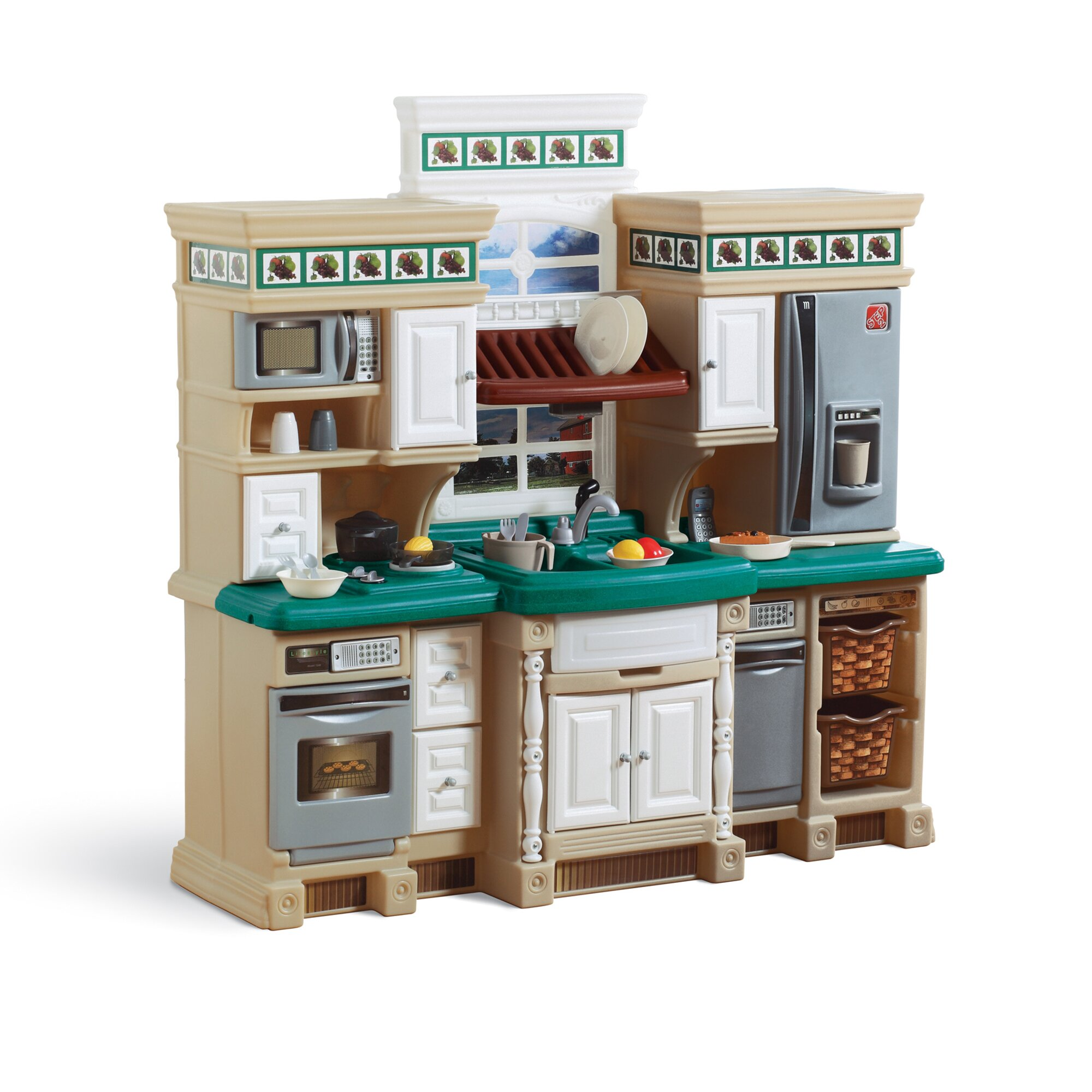 Kitchen Set Step2 Lifestyle Deluxe Kitchen Set Reviews Wayfair