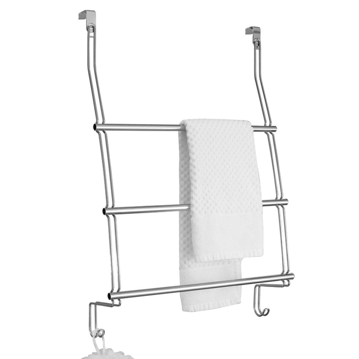 InterDesign Classico Over The Door Towel Rack