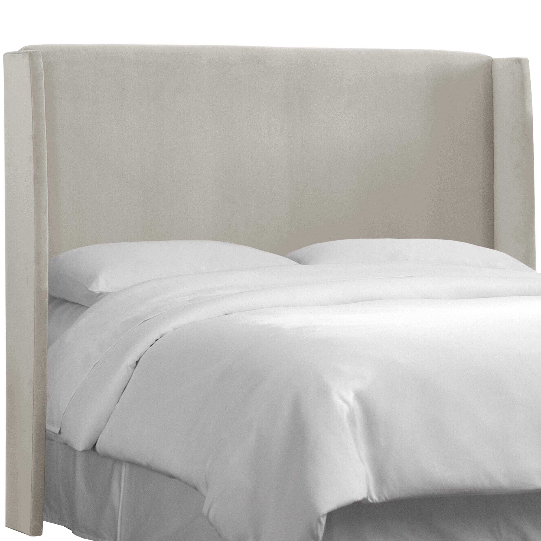 Skyline Bedroom Furniture Skyline Furniture Upholstered Wingback Headboard Reviews Wayfair