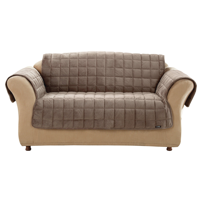 Sure Fit Deluxe Pet Sofa Slipcover & Reviews
