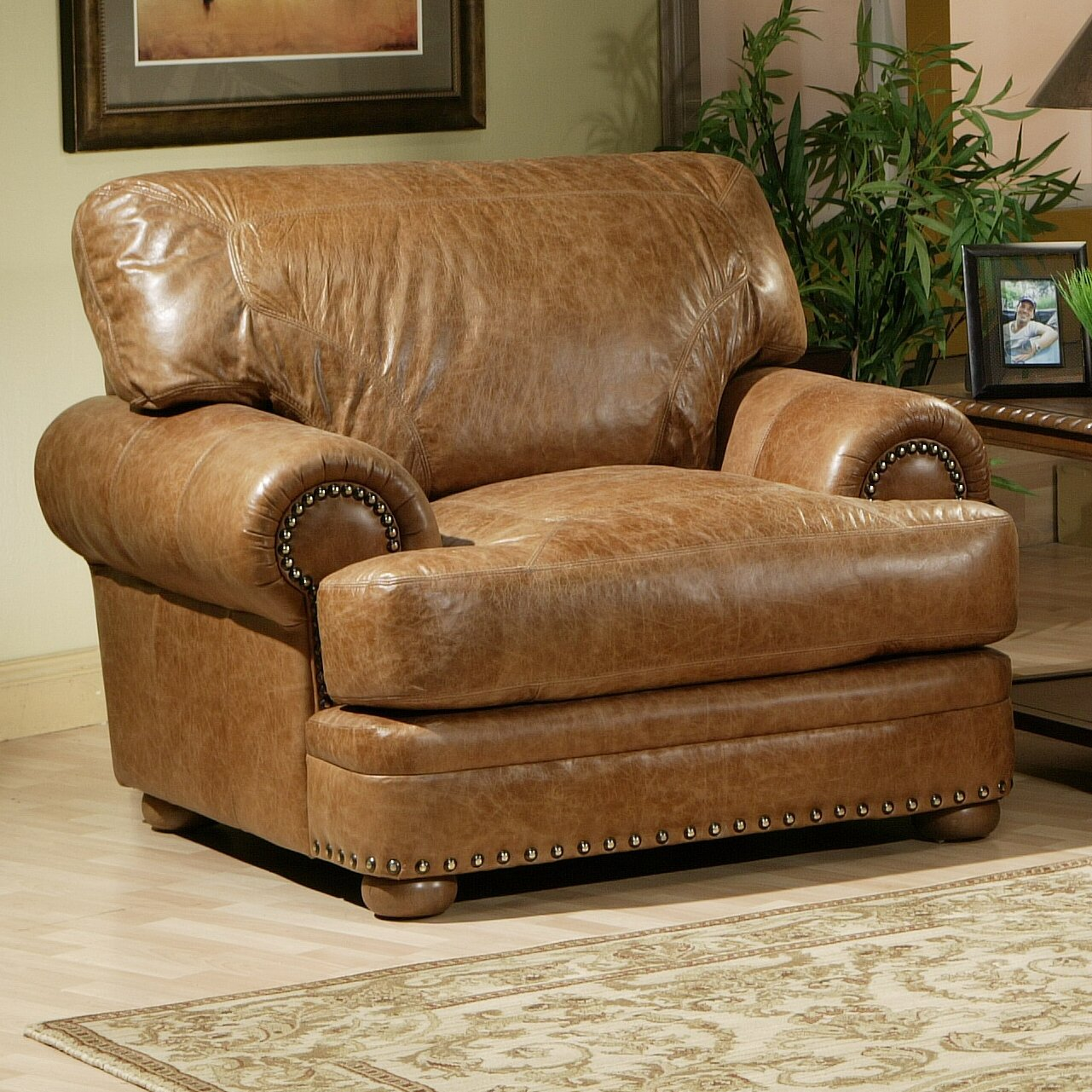 Omnia leather houston leather living room set