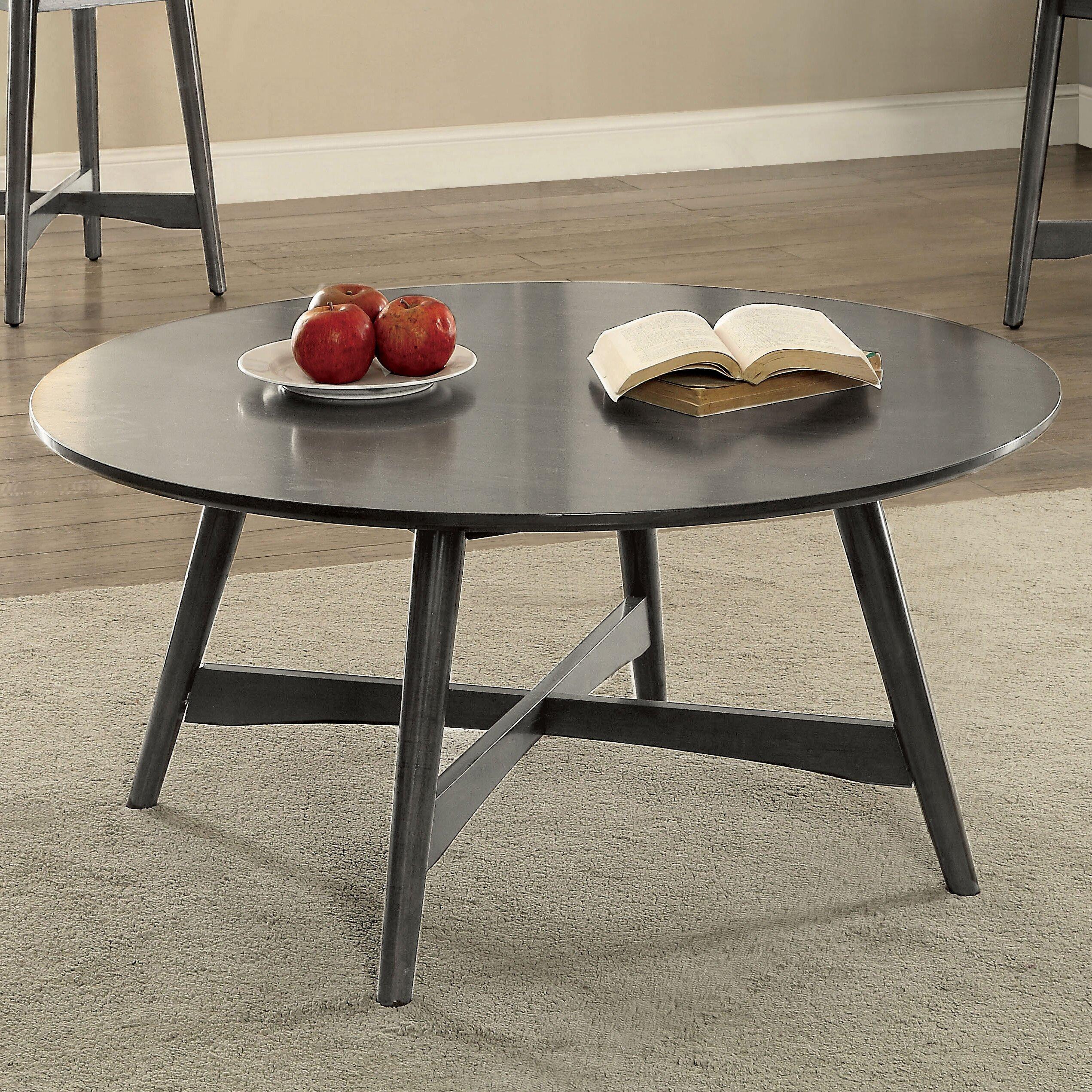 Ivy bronx dogwood mid century modern 2 piece coffee table for Wayfair mid century coffee table