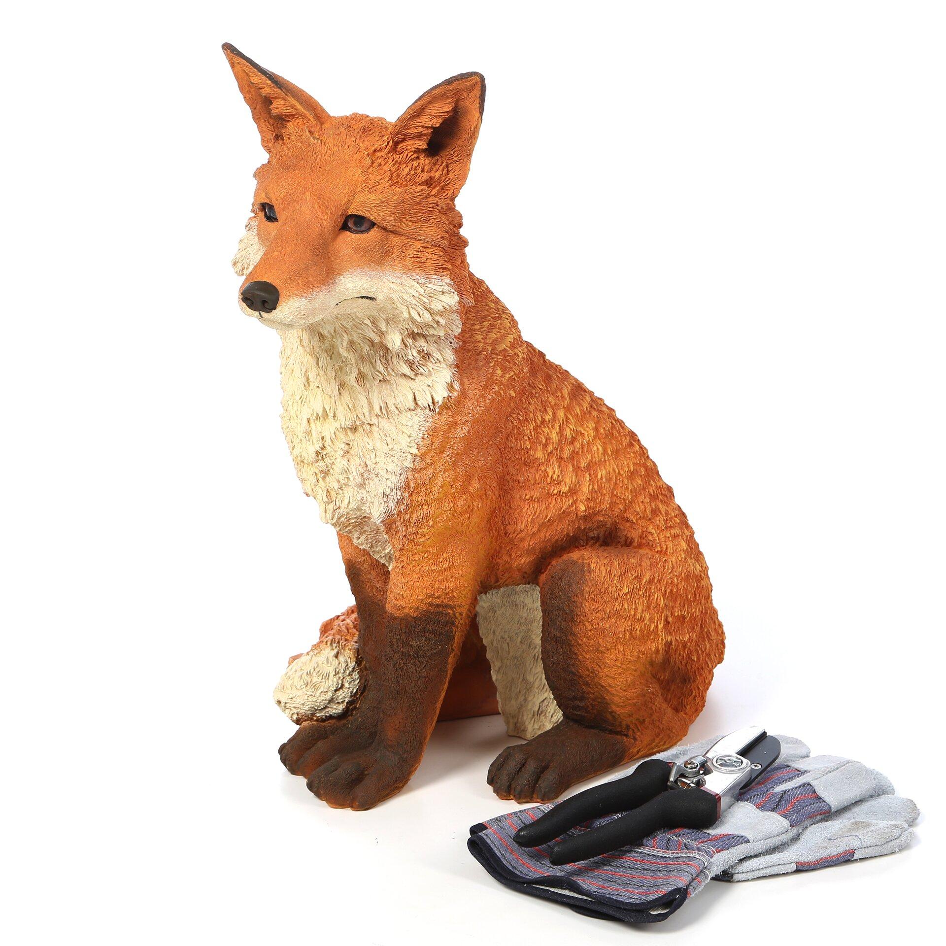 Design Toscano Simon The Fox Garden Statue Reviews Wayfair