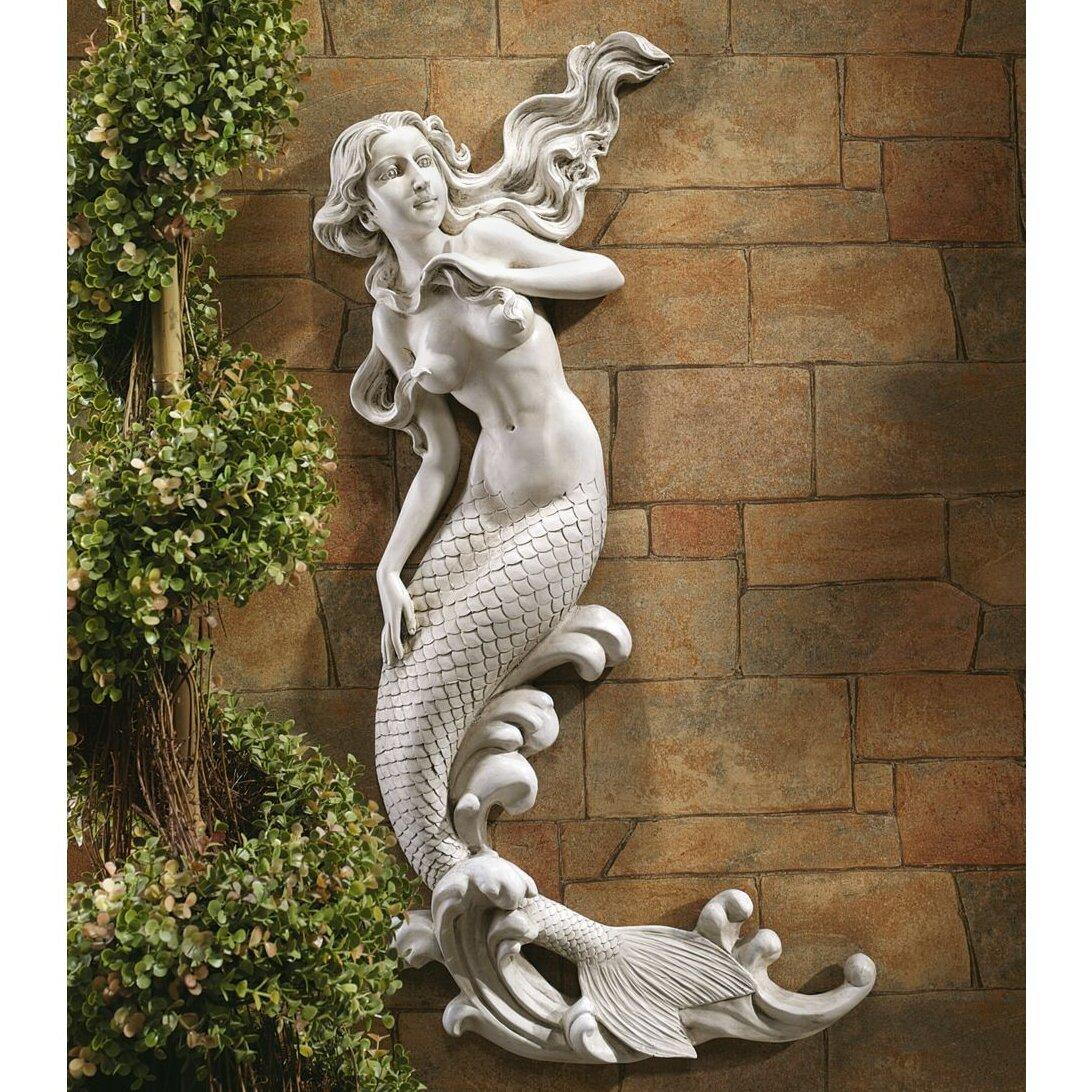 Design Toscano The Mermaid of Langelinie Cove Wall Decor
