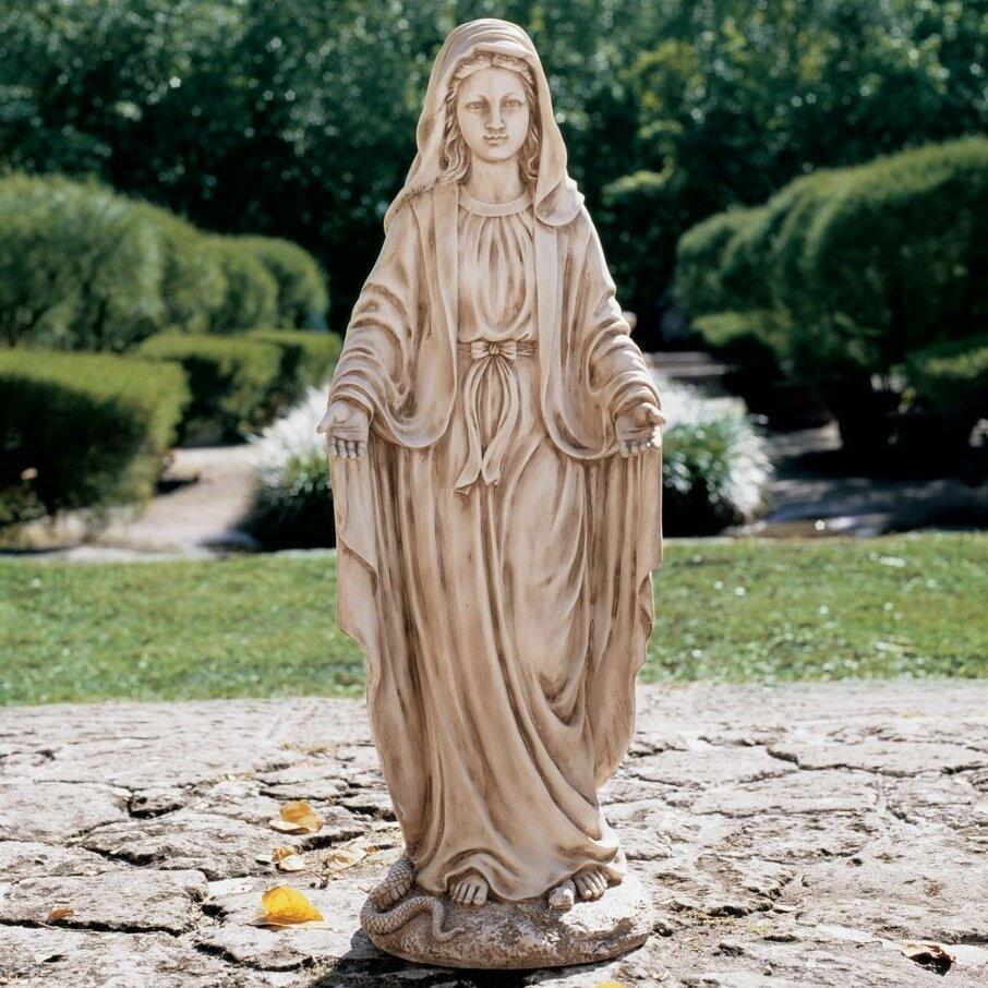 Design Toscano Madonna Blessed Mother Garden Statue Reviews Wayfair
