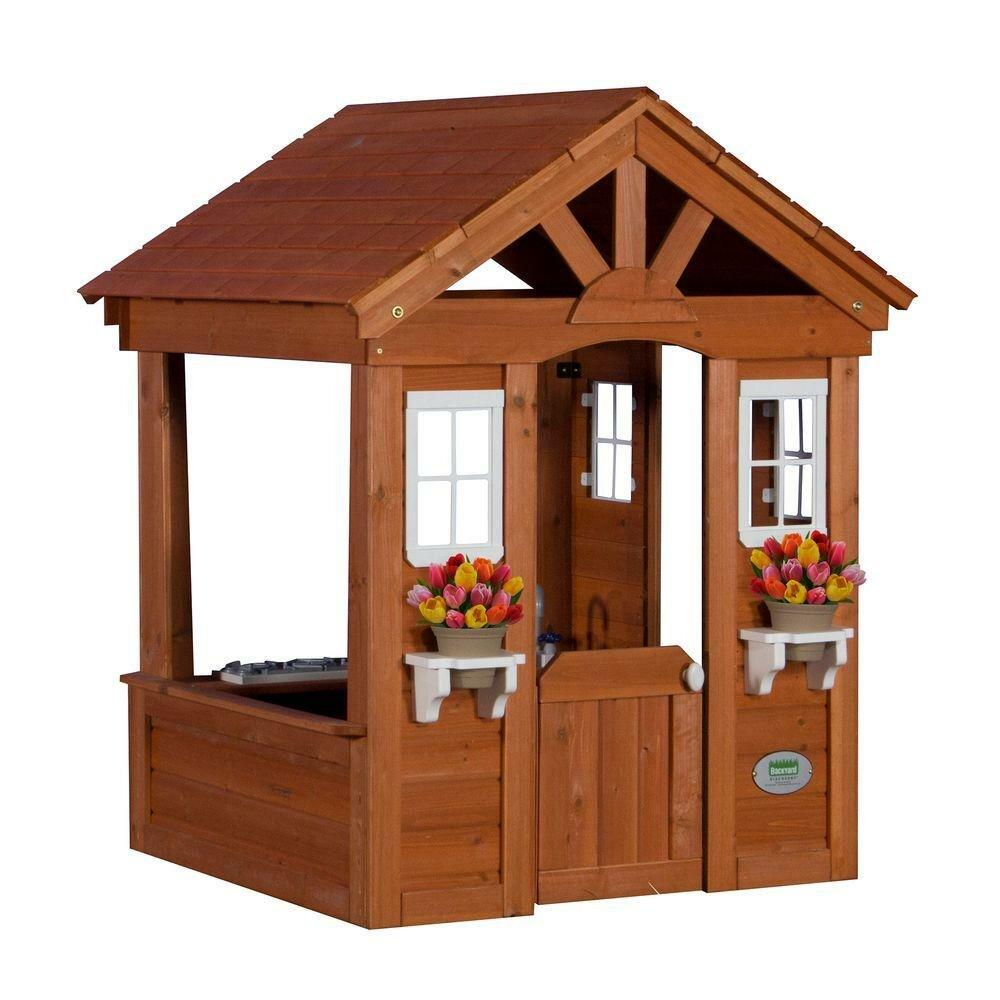 backyard discovery columbus all cedar playhouse reviews