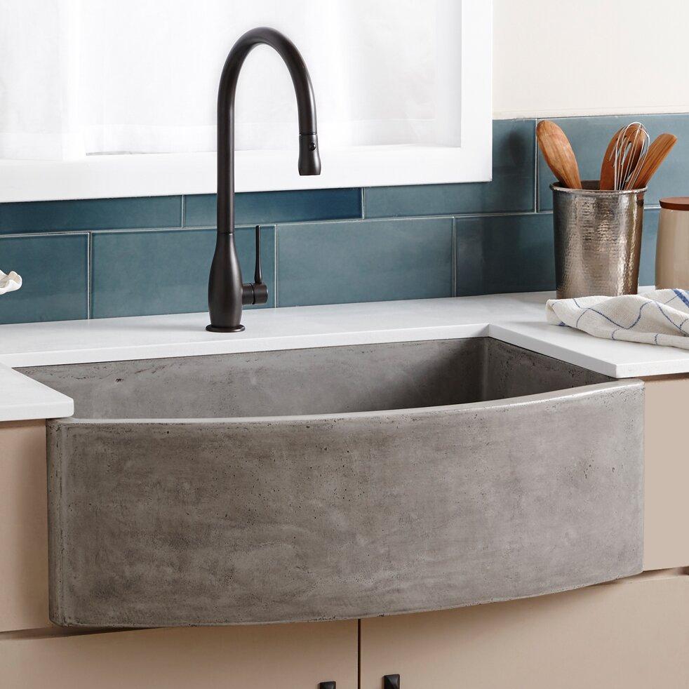 Sandstone Kitchen Sink : stone kitchen sinks you u0027ll love wayfair