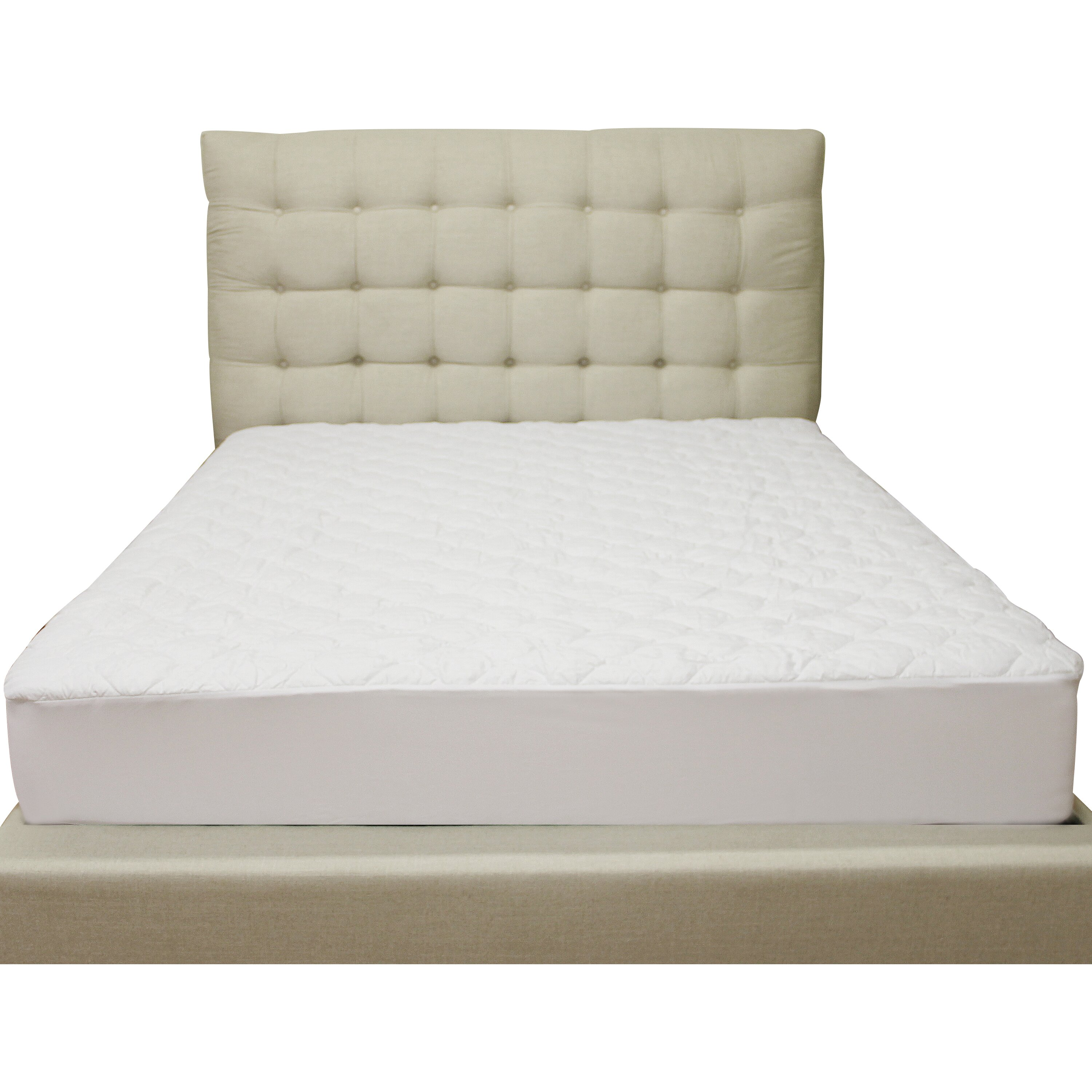 Classic Brands Deluxe Defend A Bed Quilted Hypoallergenic Waterproof Mattress Protector