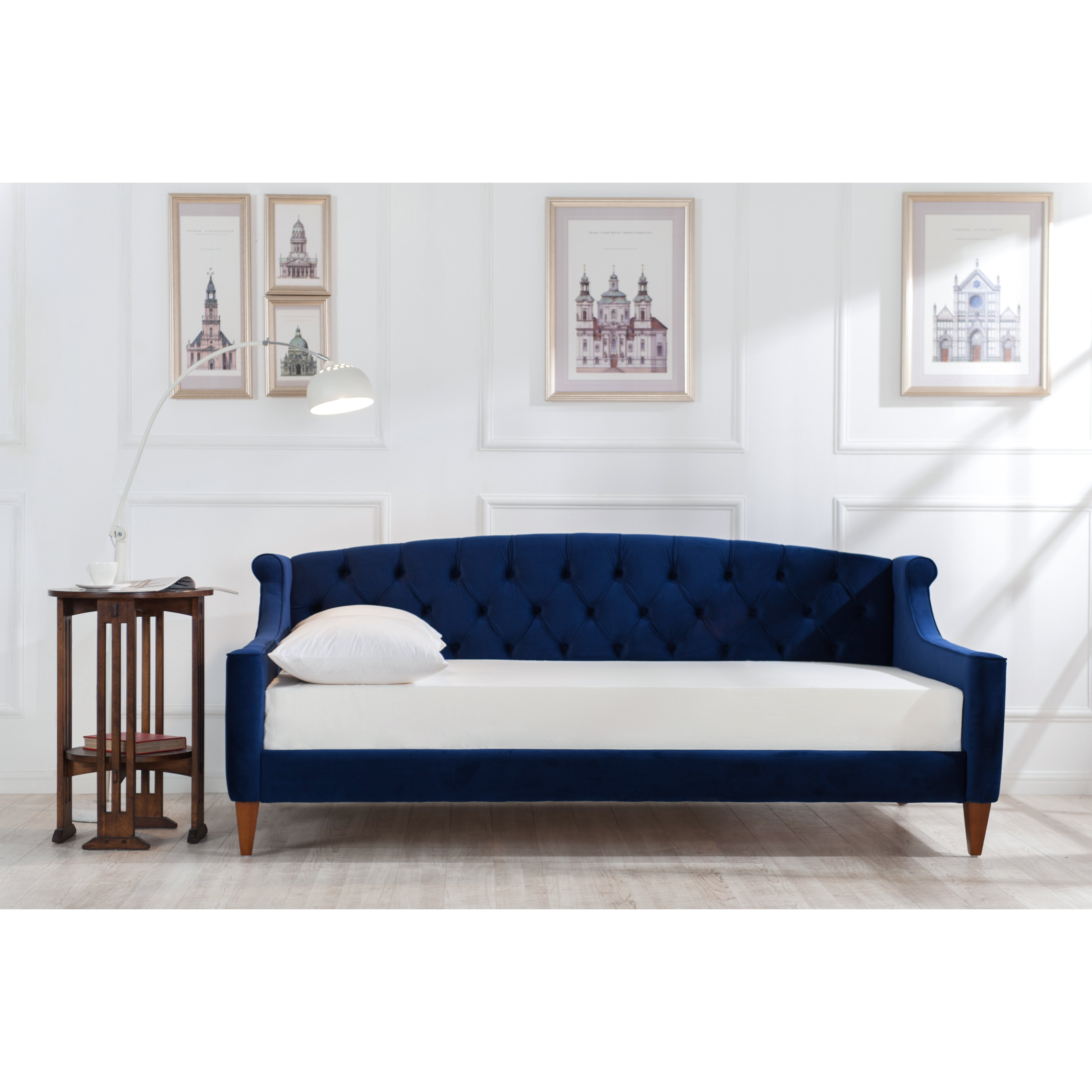 jennifer taylor lucy upholstered sleeper sofa - Sleeper Chair