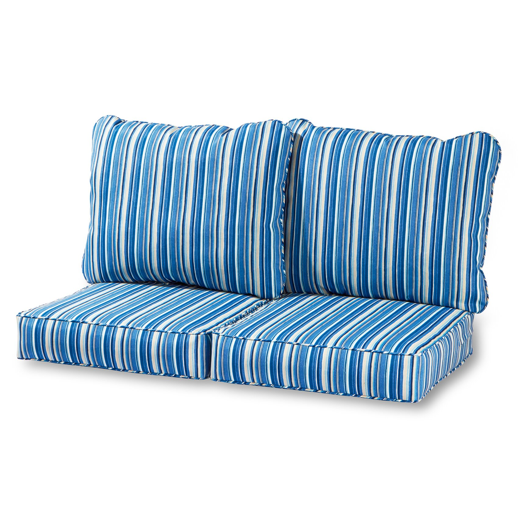 Greendale Home Fashions Deep Outdoor Loveseat Cushion