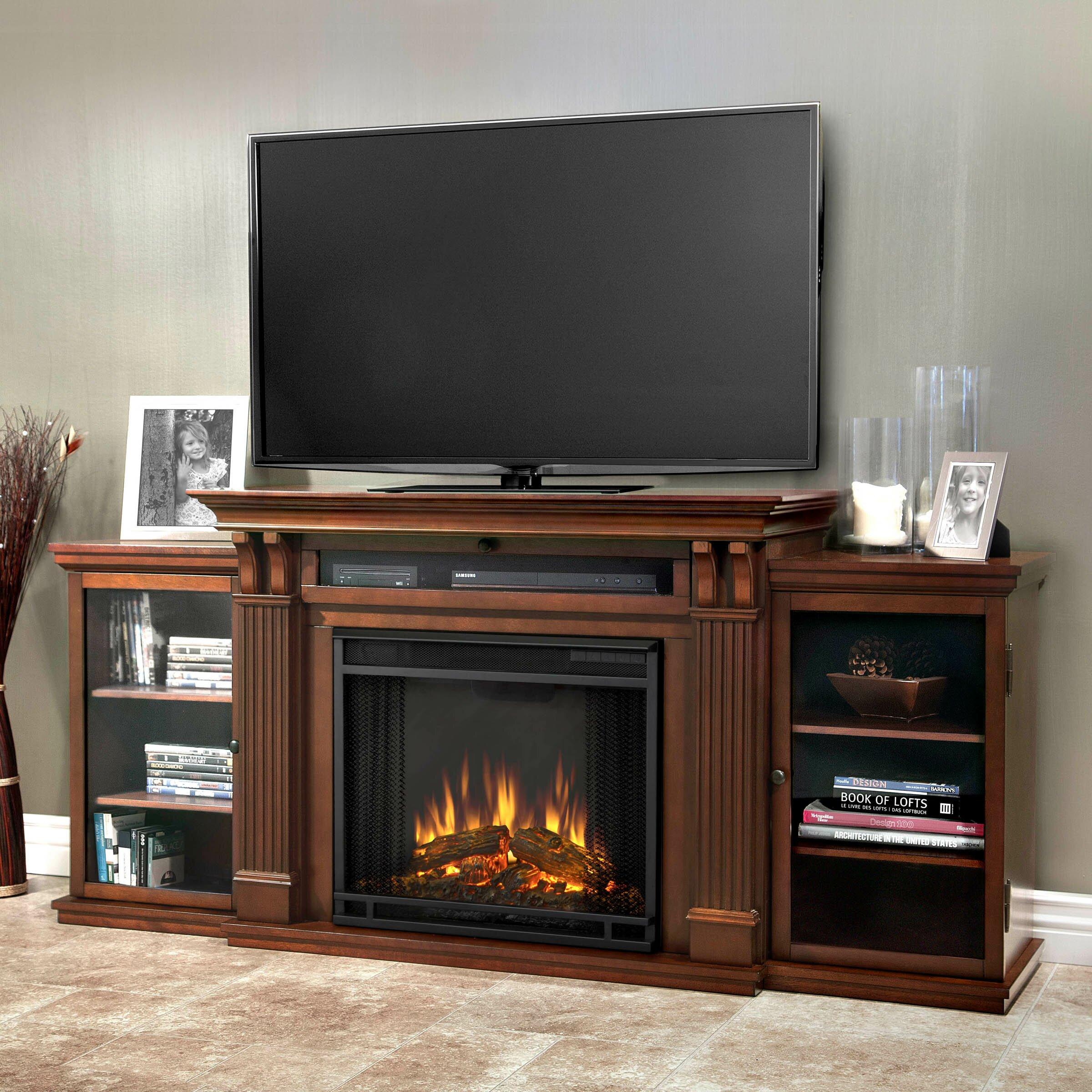 Secret Liquor Cabinet Tv Stand Fireplaces Youll Love Wayfair