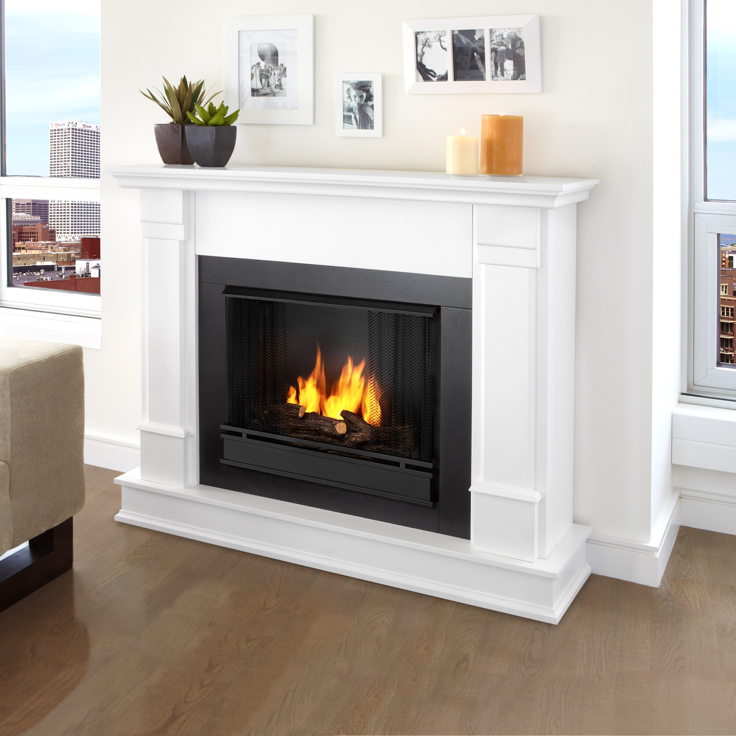 Stunning Wall Fireplaces Gel Fuel Images 3D house designs
