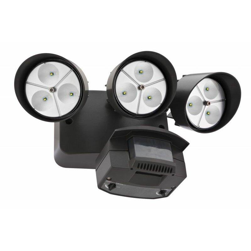 Lithonia Outdoor Security Lighting: Lithonia Lighting 3-Light LED Flood Light & Reviews