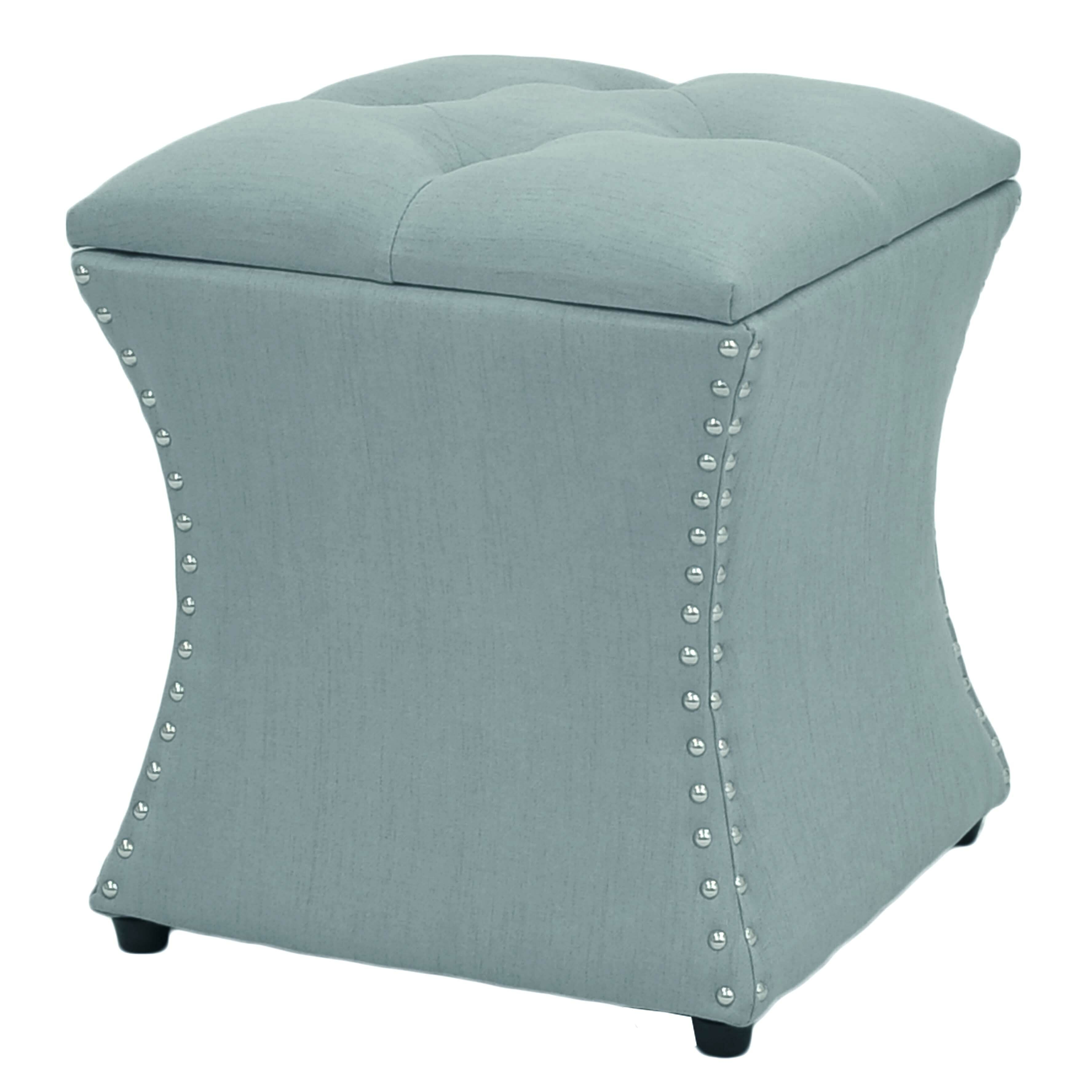 New Pacific Direct Amelia Upholstered Storage OttomanReviews