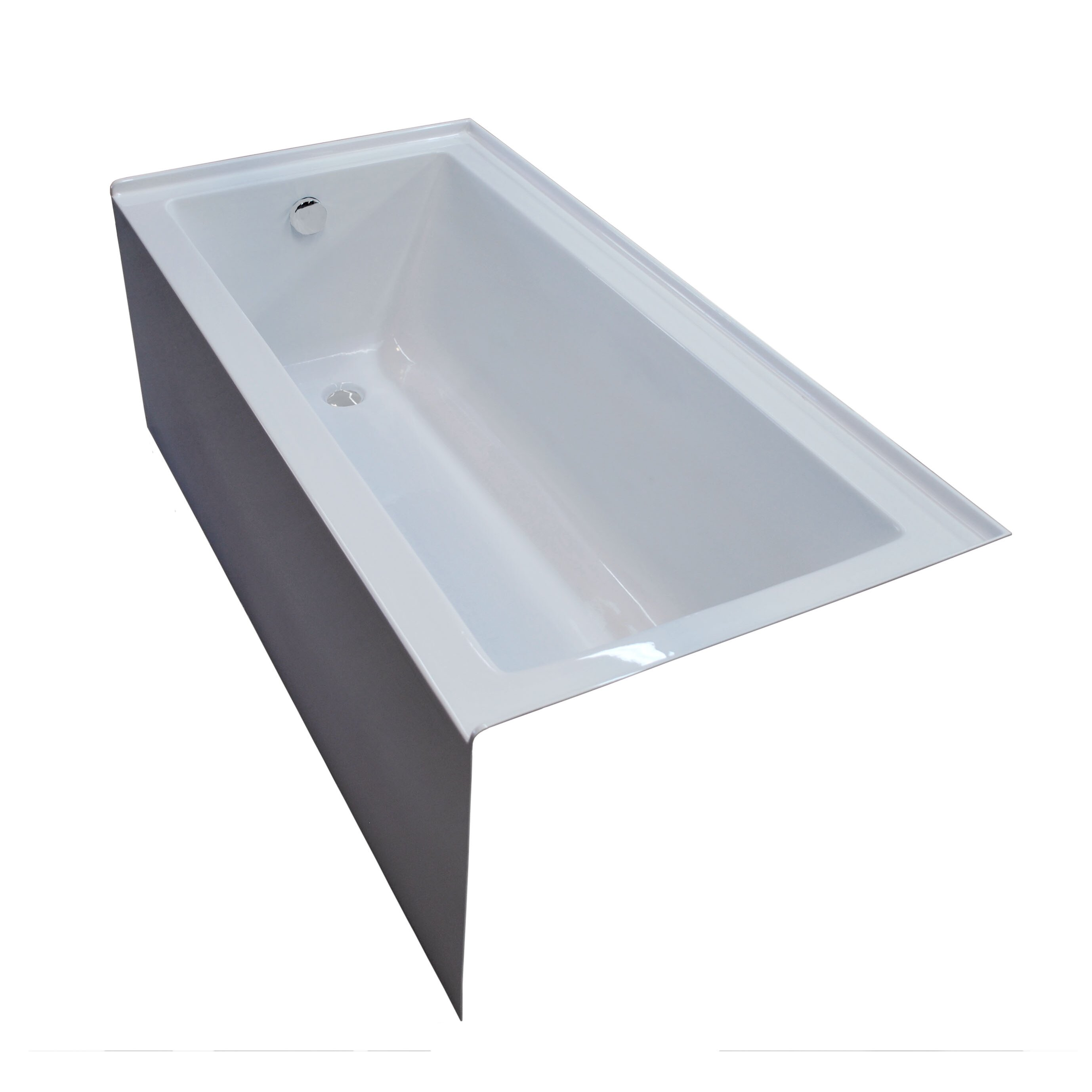 Spa Escapes Castle  X  Front Skirted Whirlpool Bathtub With - Whirlpool bathtub