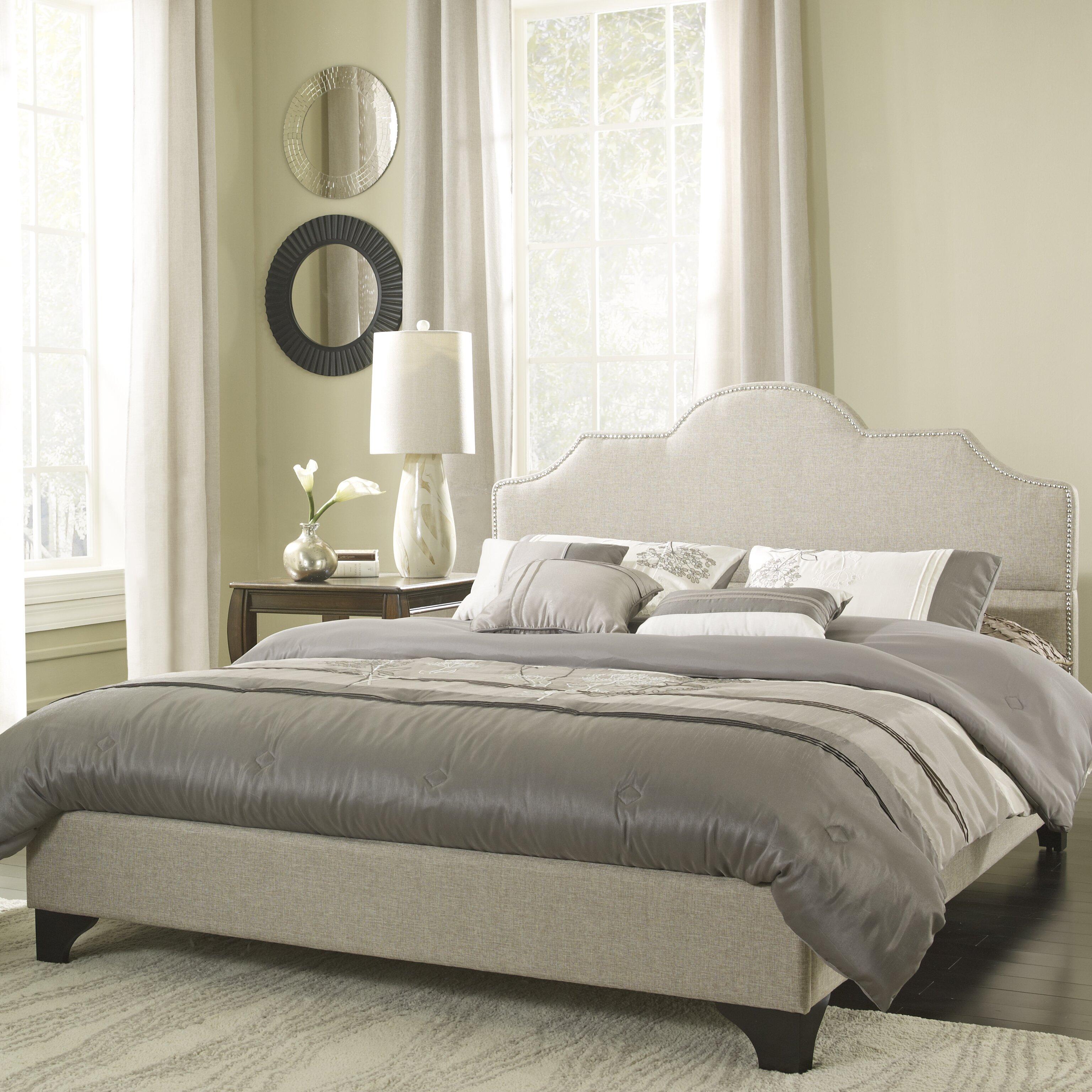 Platform Bedroom Eco Lux Upholstered Platform Bed Reviews Wayfair