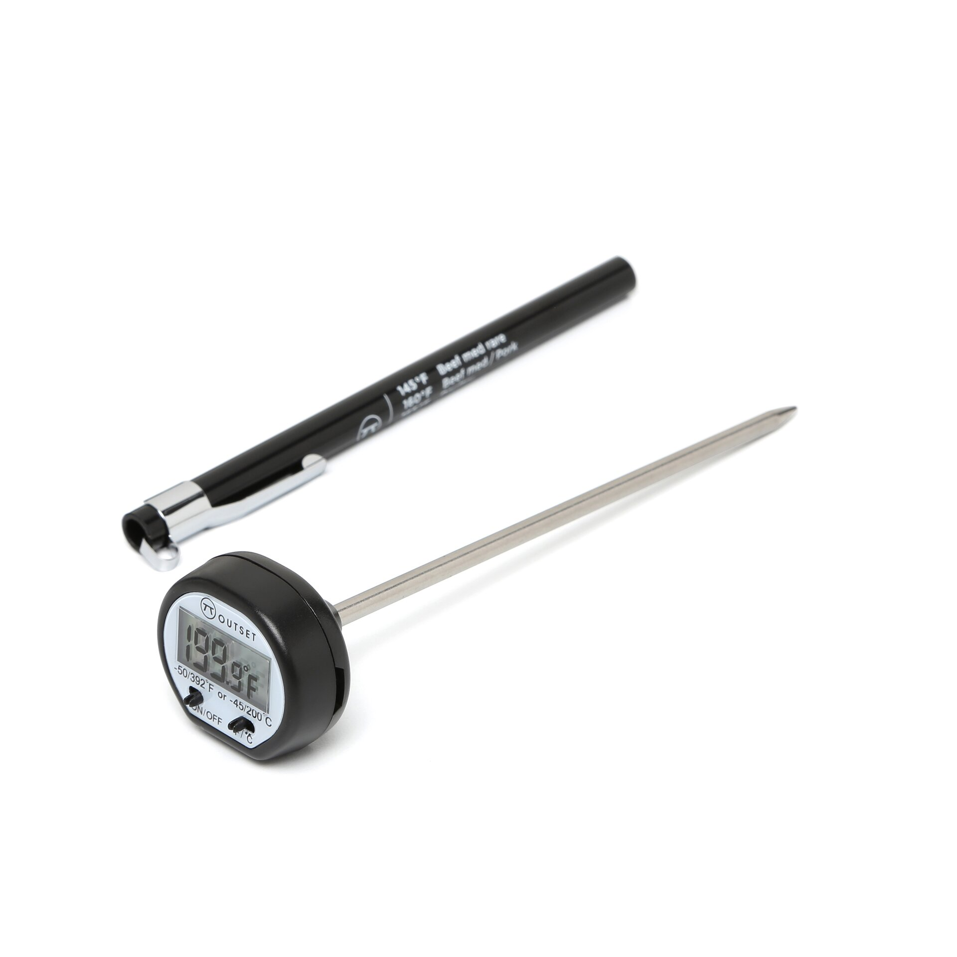 All clad instant read thermometer - Outset Instant Read Digital Thermometer