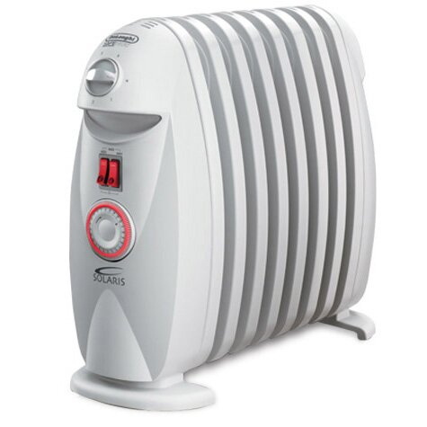 DeLonghi Safeheat 1200W Portable Oil-Filled Radiator | Wayfair