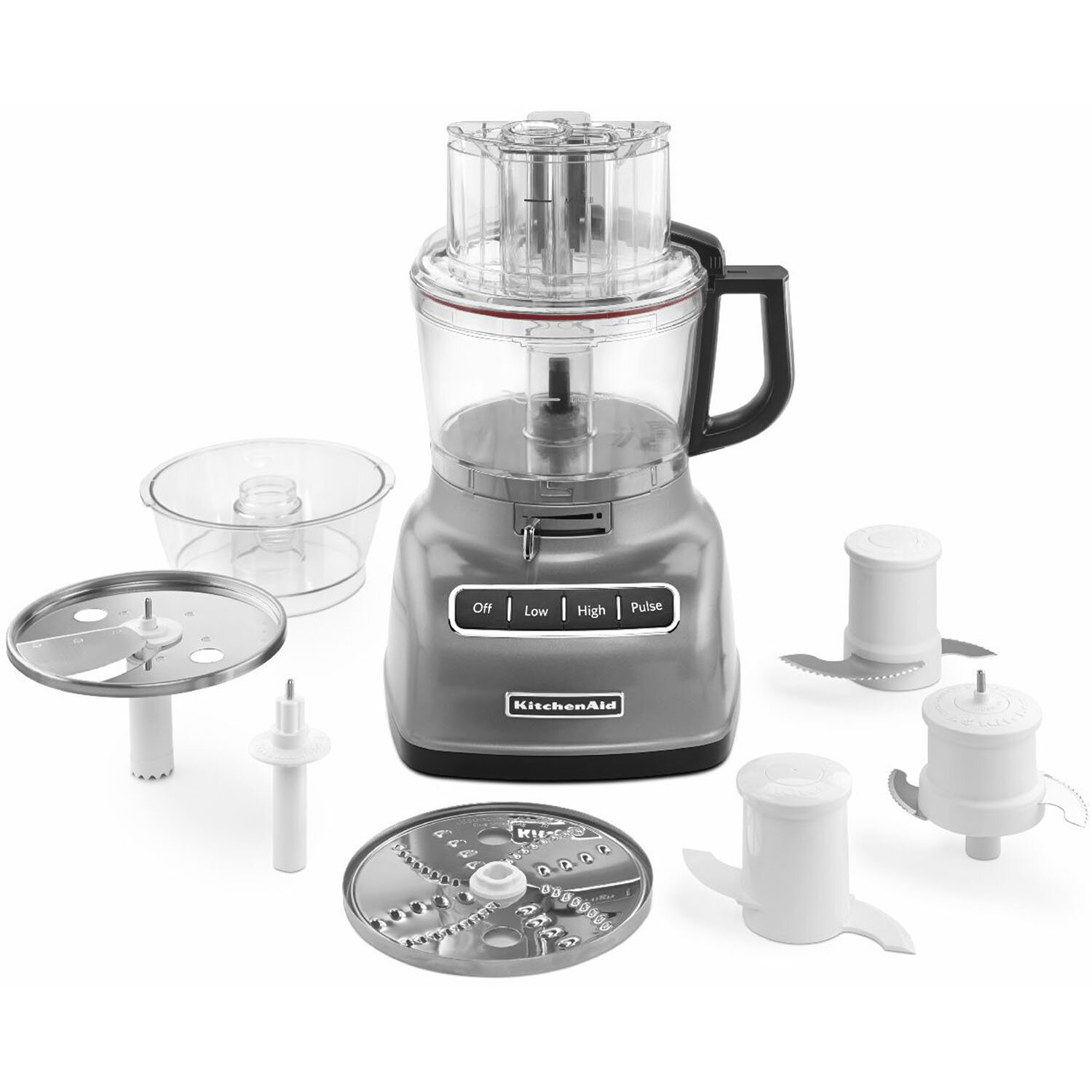 KitchenAid 9-Cup Food Processor with ExactSlice System and External  Adjustable Lever