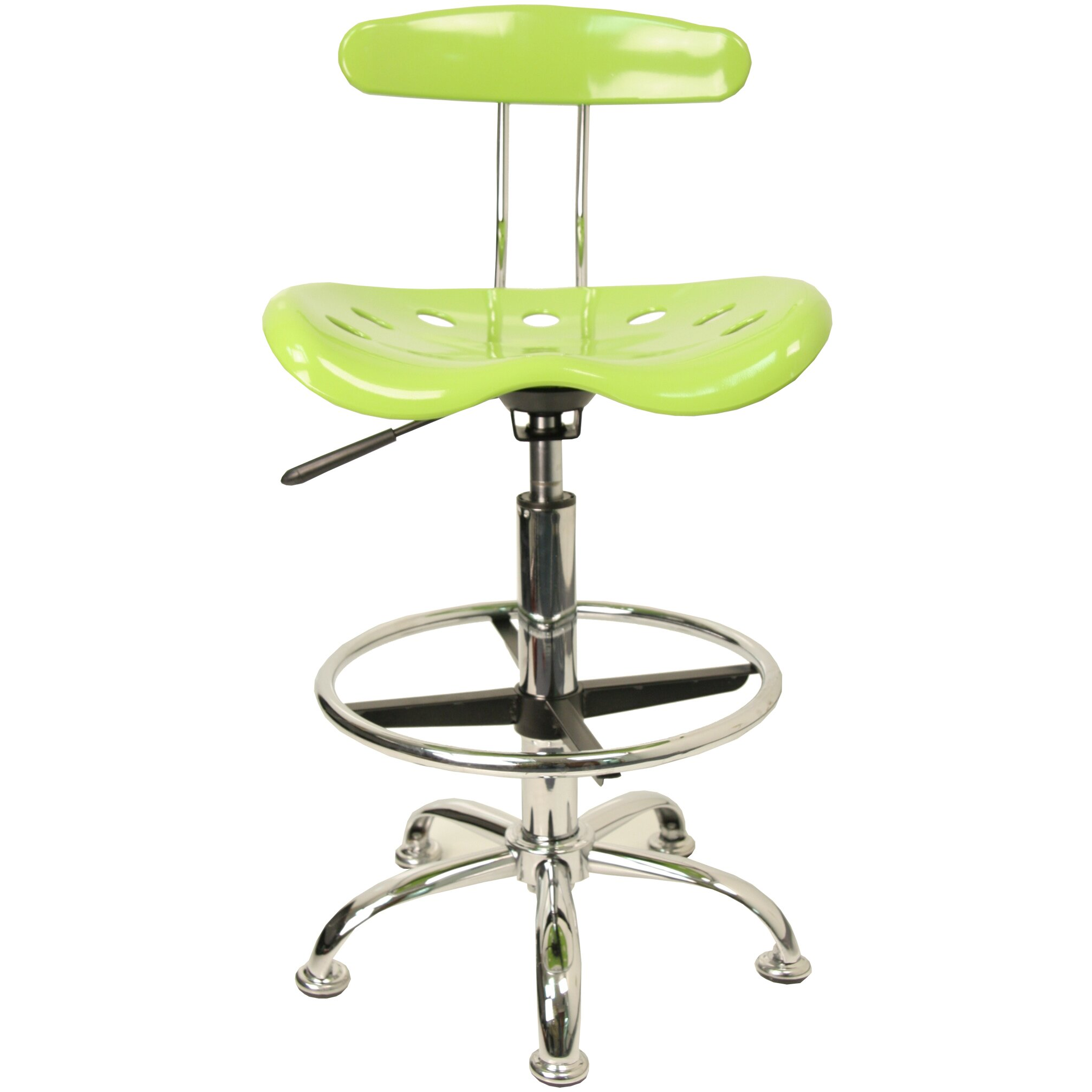 Desk and cascade chair - Flash Furniture Personalized High Back Drafting Chair