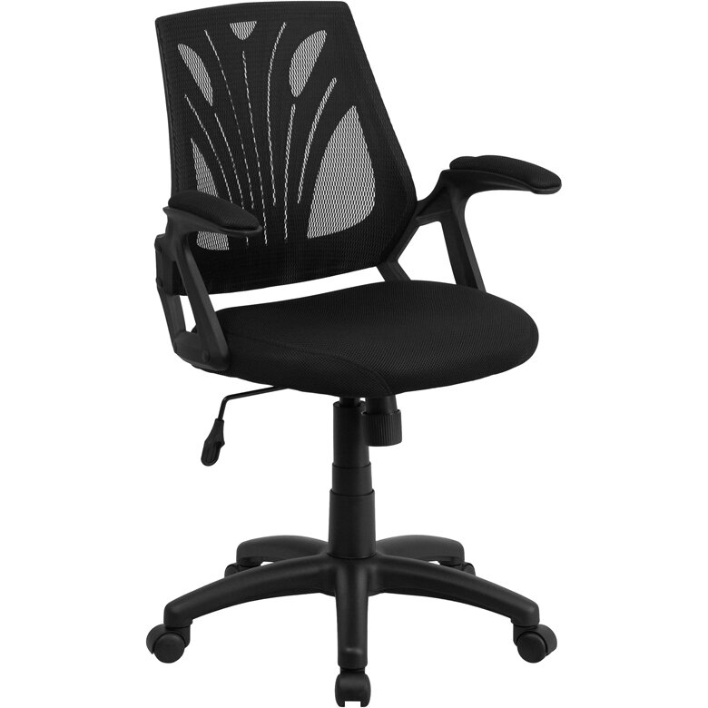 Flash Furniture Mid Back Mesh Desk Chair & Reviews