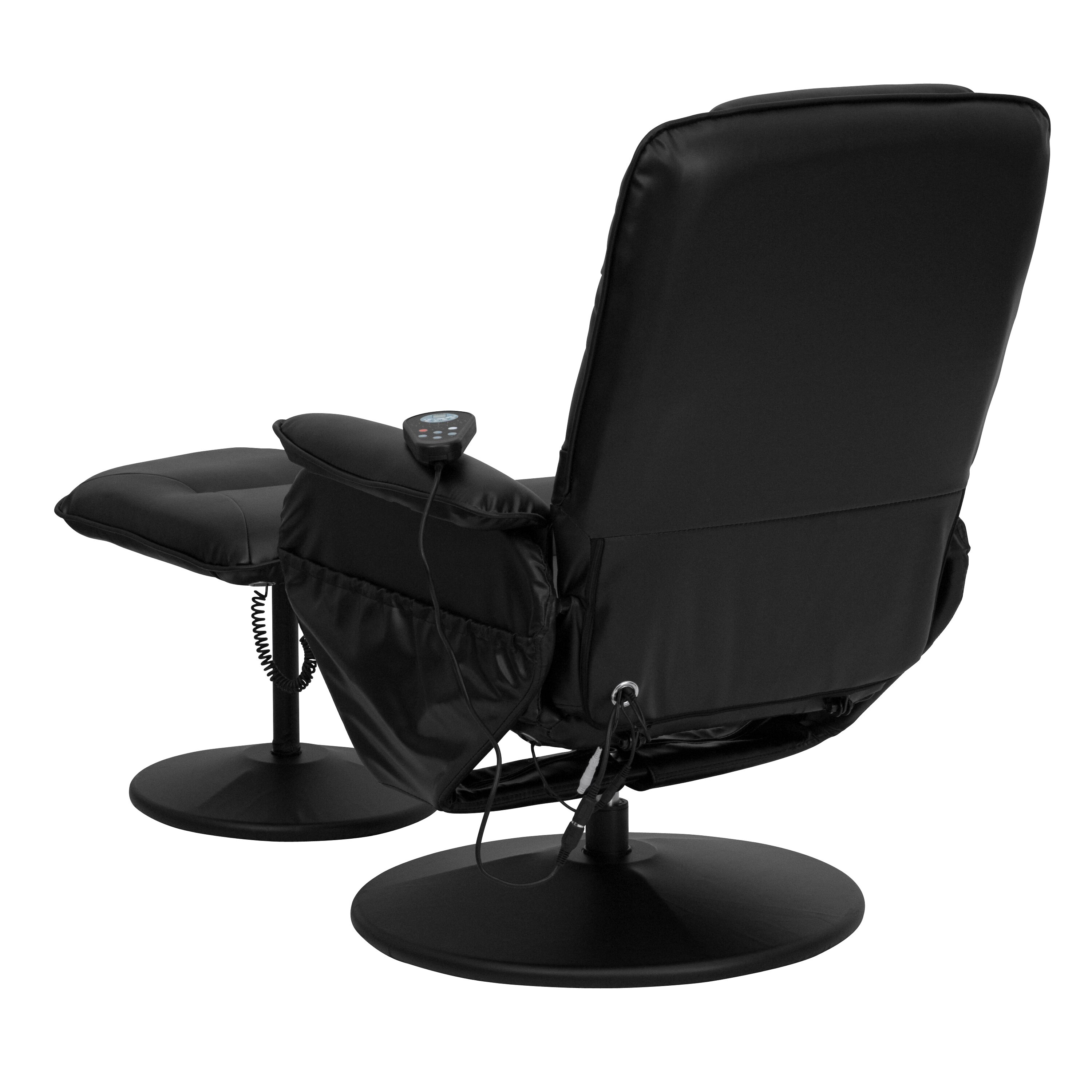 Flash Furniture Leather Heated Reclining